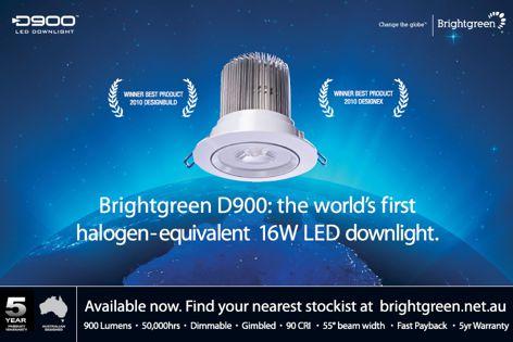 Brightgreen D900 LED downlight