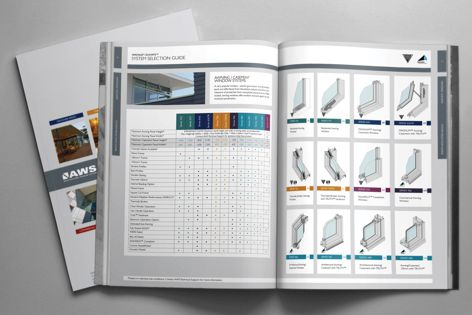 The AWS System Portfolio includes the full range of AWS products grouped by type and series, with details and information for specifiers, making product selection easier.