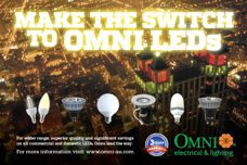LED lighting by Omni Electrical and Lighting