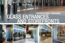 Glass entrances by CR Laurence