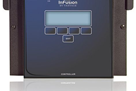 The InFusion Controller provides seamless integration of various controls.