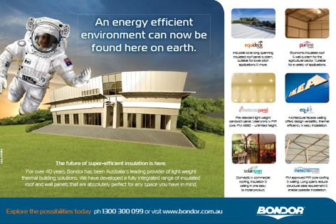 Insulation products by Bondor