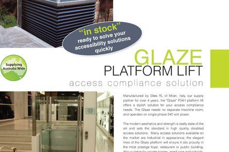 Glaze platform lift