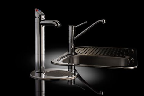 Chilled filtered, boiling, hot and ambient cold water are all available.