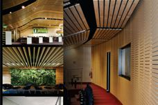 Acoustic lining solutions by Supawood
