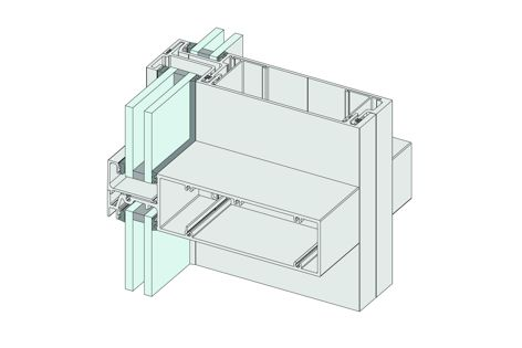The AWS FrontGlaze framing system can be used in cyclone-prone areas.