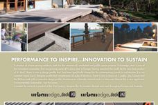 Urban Edge Deck 143 and 242 composite decking