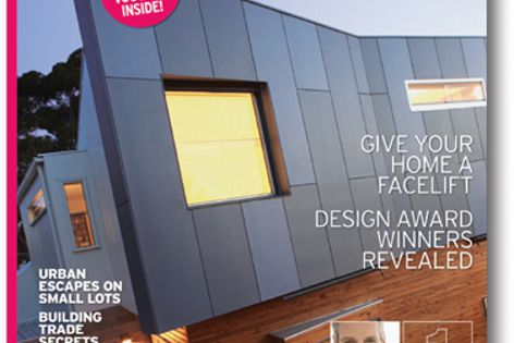 Winners of the Look Home Design Awards, which recognize green homes, are featured in this magazine.