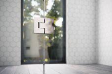 Soft-closing shower screens by Stegbar