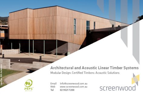 Timber systems from Screenwood