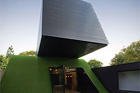 Hill House by Andrew Maynard Architects an Overall 2012 Vision Award winner. Photo: Nic Granleese.