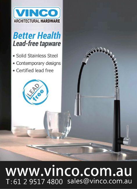 Lead-free tapware by Vinco