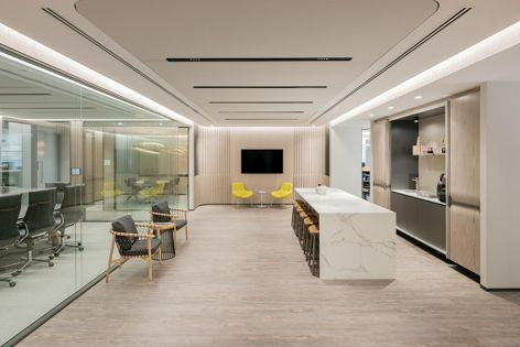Soft Cells acoustic panels were specified for this Singapore office.