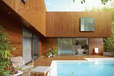 Endure engineered timber cladding by Porta