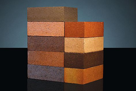 Bricks in the Dry Pressed collection are ideal for projects that require a distinctive style and a timeless look.