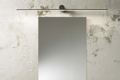 Sleek and minimal, Olev Slight lights are ideal for use above mirrors or artworks.