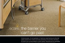 eCare carpet backing by Edwardstown