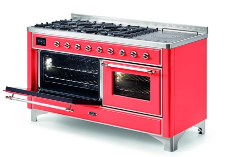 Ilve offers a host of customization options for its new freestanding cooker range, Majestic.