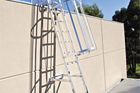Katt modular ladders are suitable for elevated areas such as roof tops, ceiling spaces, etc.