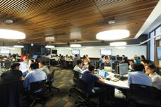 Screenwood ceiling tiles used at UNSW
