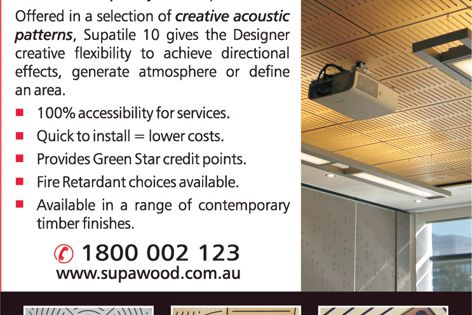 Supatile 10 ceiling system