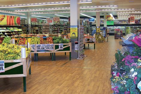 Altro Timbersafe gives a fresh, new look at Cornetts Supa IGA in Deagon, Queensland.