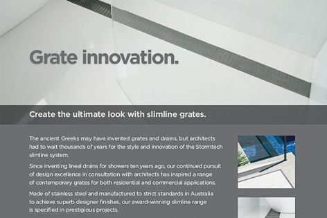 Stormtech – grate innovation