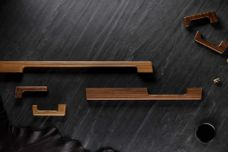 Solid timber door hardware by Tirar