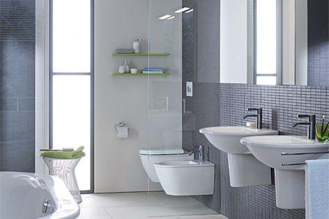 Darling bathroom accessories by Duravit