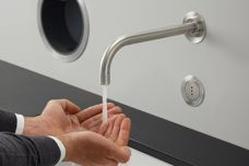 Touch-free Vola washroom products