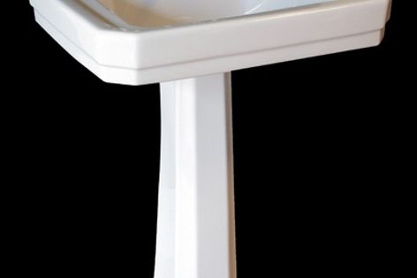 Manufacturer Perrin & Rowe now produces a range of period-style handbasins and WCs.