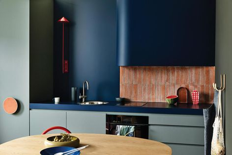 AbsoluteMatte can be used for benchtops and joinery.