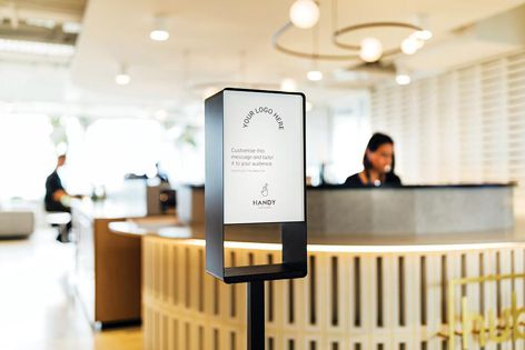 Easy sanitization is at your fingertips – just place your hands under the sensor and allow the unit to dispense into your hands.
