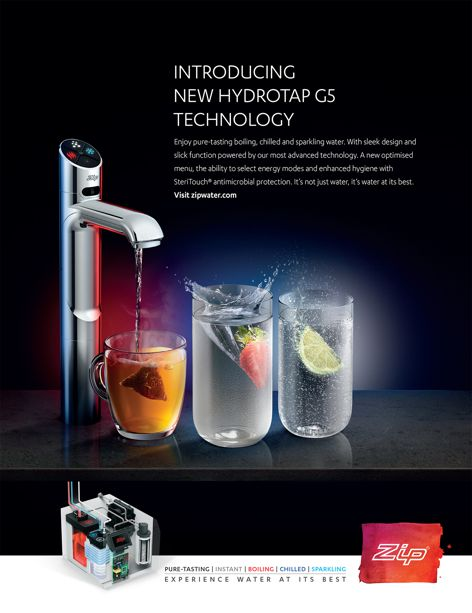 Introducing new Hydrotap G5 technology