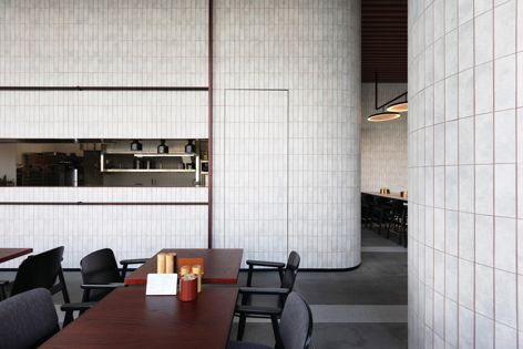 Brick slips for wall applications from Klay