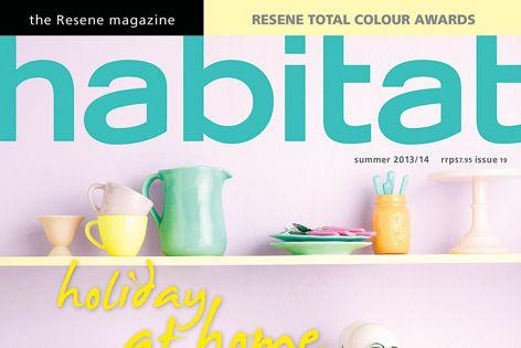 Explore a range of colours and designs with Resene's Habitat magazine.