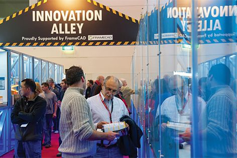 Innovation Alley at DesignBUILD 2012.