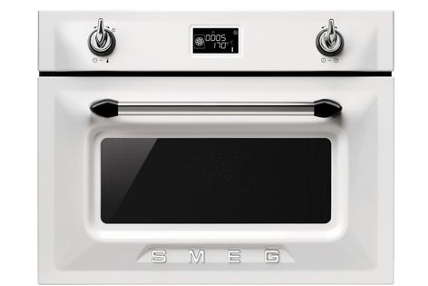 The Compact Speed Oven (pictured is Victoria) is supplemented by microwave technology.