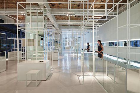 Dust by Sibling, winner of the 2015 Premier Award for Australian Interior Design, the Retail Design Award and Emerging Interior Design Practice Award. Photograph: Peter Bennetts.