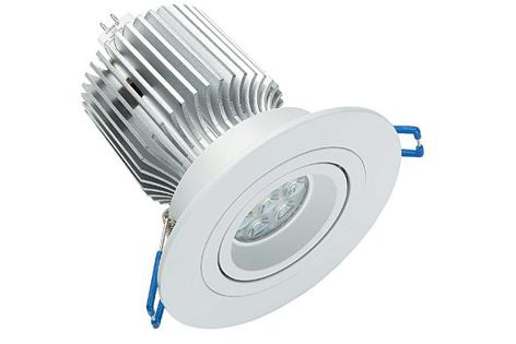 The LEDlux 14 W Cool White dimmable LED downlight is an ideal lighting solution for high ceilings.