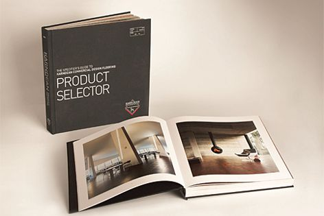 Product Selector contains product shots and extensive technical data.