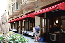 Alto FR awning fabric by Dickson Constant