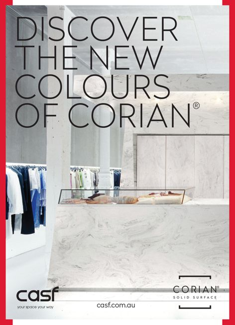 Corian solid surfaces from CASF