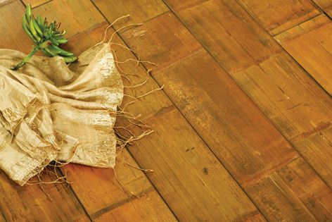 The eco-solid Forest bamboo flooring is suited to high-traffic areas and damp environments.