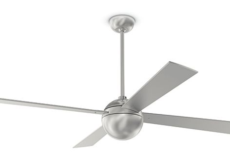 The Ball fan is a contemporary classic by designer Ron Rezek.