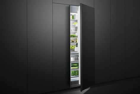 Modular refrigerators and freezers can be mixed and matched to suit a range of kitchen spaces.