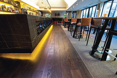 Tectonic Flooring uses timber more efficiently than traditional timber flooring.