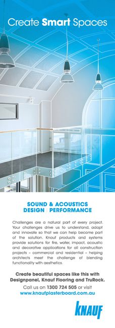 Acoustic solutions by Knauf
