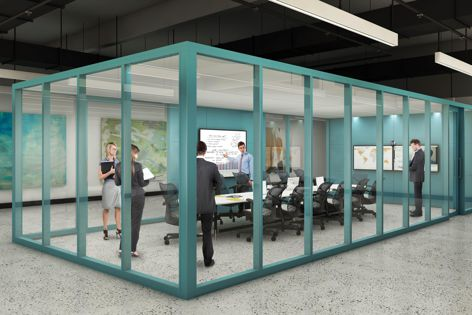 Incorporate communication and technology systems with the Shift partitioning system.
