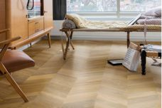 Quick-Step's Intenso chevron timber collection